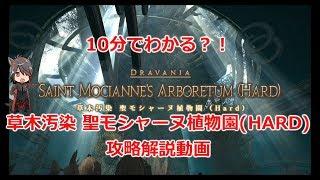 【FF14】10分でわかる?!草木汚染 聖モシャーヌ植物園 攻略解説動画 thumbnail