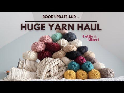 Huge Yarn Haul