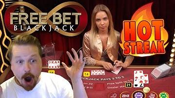 HOT STREAK - Free Bet Blackjack