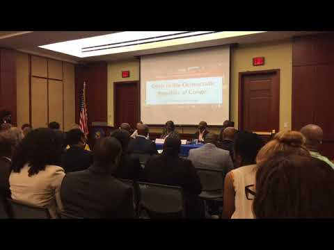 Africa Policy Breakfast: Crisis in the Democratic Republic of Congo - May 16, 2018