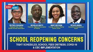 Tight schedules, school fees distress, Covid-19 School  and CBC implementation   Frontrow( Part Two)