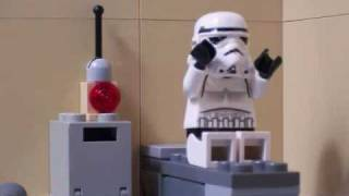 Lego Star Wars: Late for Work