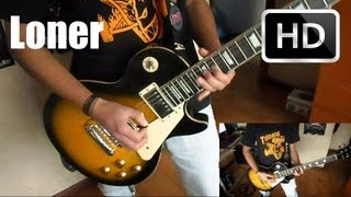 Black Sabbath Loner guitar cover with solos (+ Lyrics) HD