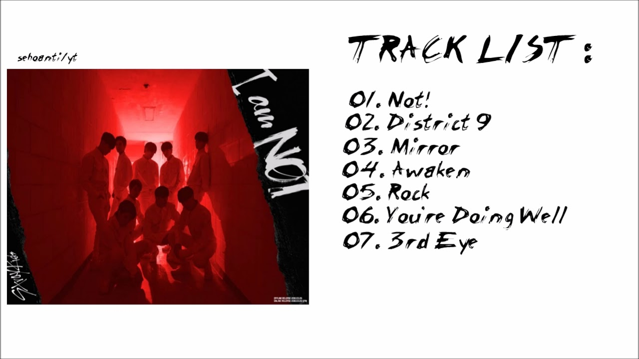 Stray Kids 'I Am Not' (Full Album)