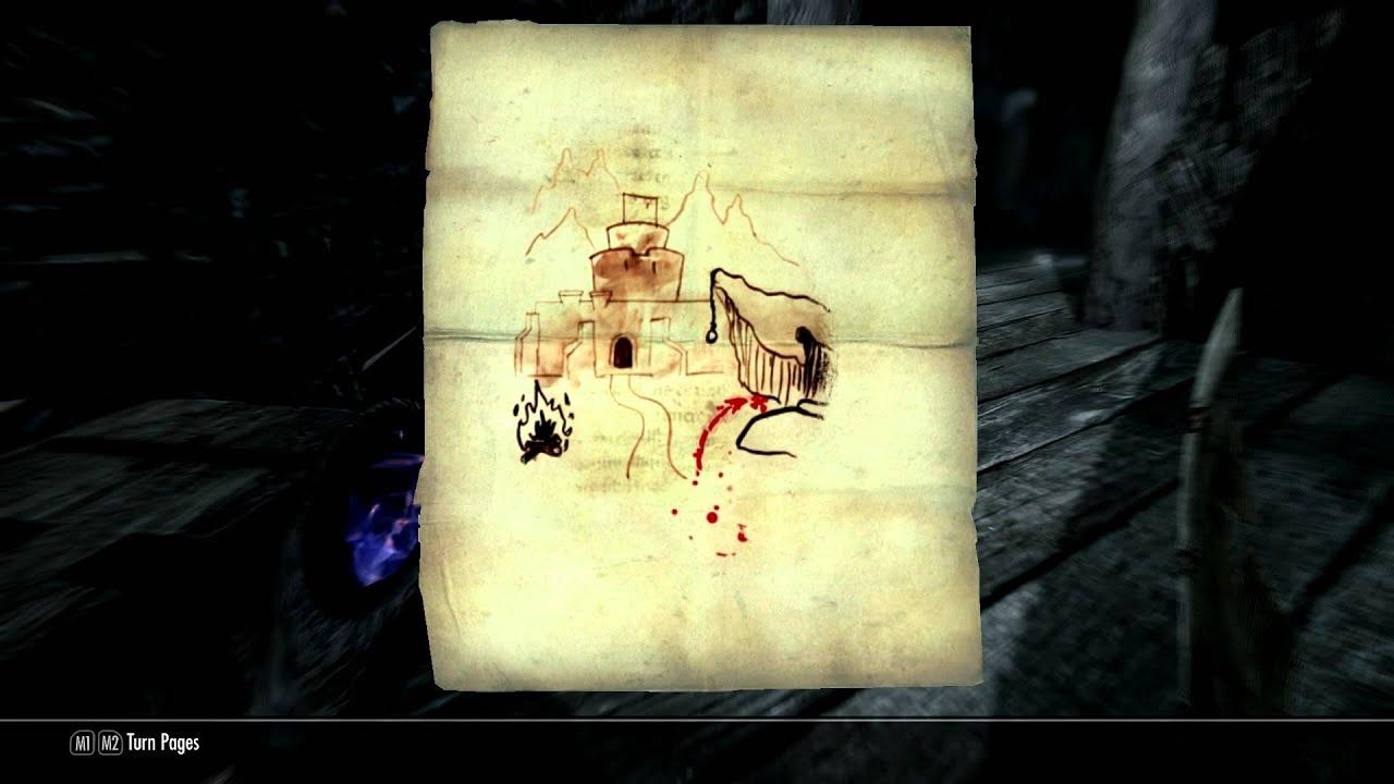 Skyrim - Treasure Map VII Guide