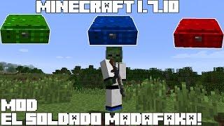 Minecraft 1.7.10 MOD EL SOLDADO MADAFAKA! CounterStrike: Global Offensive MOD Español!