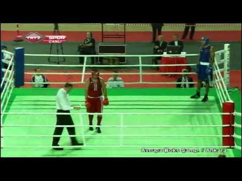 Mihai Nistor vs Anthony Joshua 2011 European Championships
