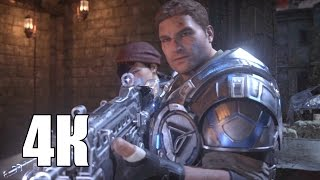 Gears of War 4 — Геймплей на ПК! (4К) Gamescom 2016