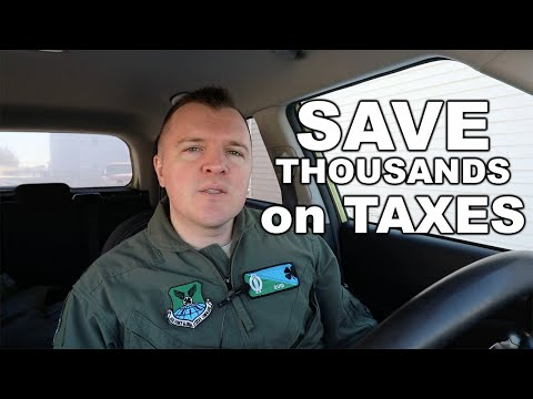 Military Can Save Thousands On State Taxes