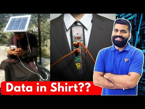 Data Storage in Clothes - Hidden Storage with Wearable Computing!!