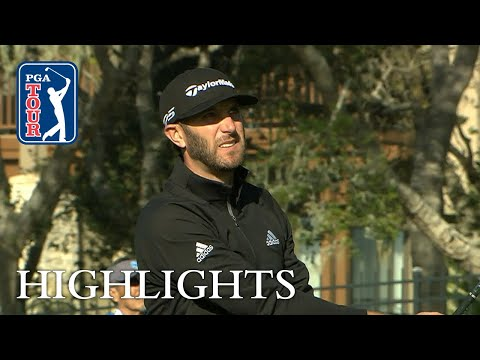 Dustin Johnson's extended highlights | Round 3 | AT&T Pebble Beach