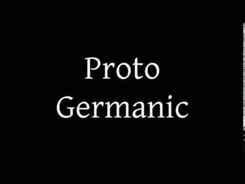 Schleicher's Tale in Proto Germanic