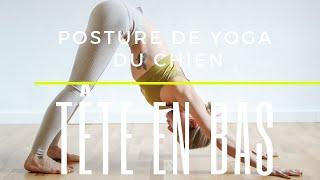 Posture de Yoga du Chien tête en bas