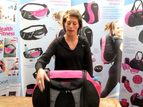 Goddess III Gym and Travel bag in Pink Introduction