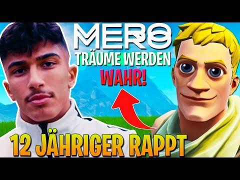 12 Jähriger RAPPT MERO TRÄUME WERDEN WAHR in Fortnite ..