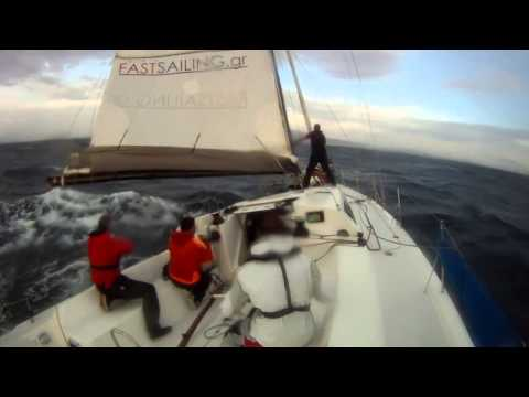 Greece 2012 - Pogo 12.50 - 24.8 kts top speed