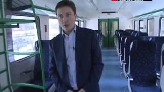 В Рязань и Калугу можно будет доехать с комфортом(http://www.mosobltv.ru/ Обновление парка пригородных поездов идет медленно, но верно. Следующие на очереди -- Рязань..., 2013-12-02T19:18:47.000Z)