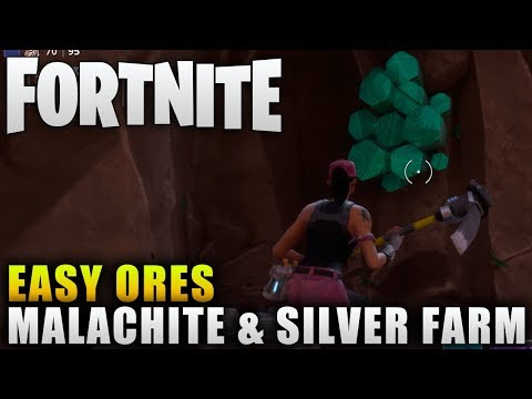 """Fortnite Guide """"How To Get Malachite"""" Fortnite Easy Crafting Material Farming"""