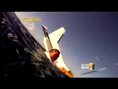 Makani Kai plane crash survivor shares video of the watery landing