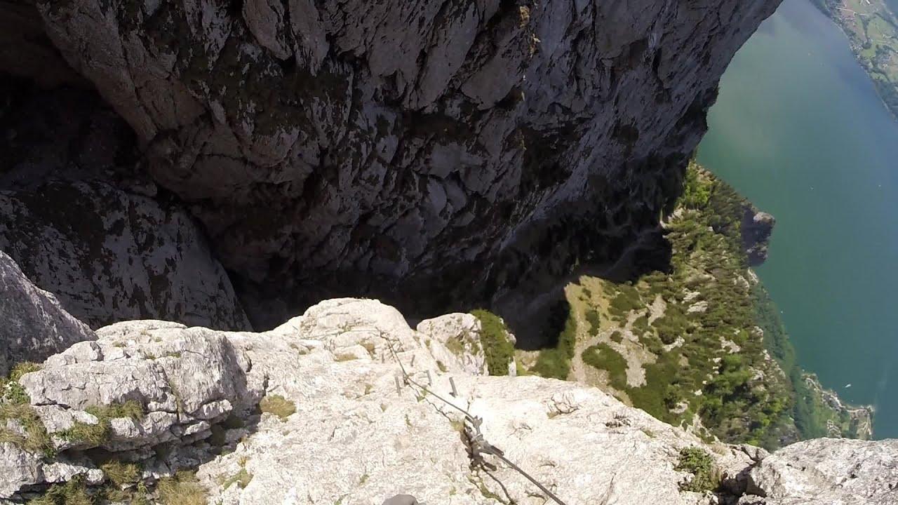 Klettersteig Traunstein : Traunstein klettersteig [29.05.2015] youtube
