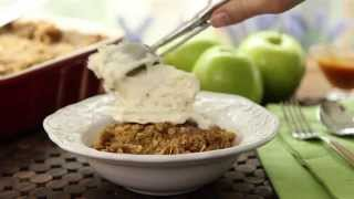Apple Recipes - How To Make Apple Crisp With Oat Topping