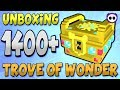 UNBOXING OVER 1400 TROVE OF WONDER (ToW)