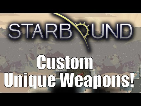 Starbound Custom Creations Omni-Guns and Bubblegum Whips!