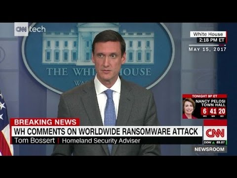 Thumbnail: White House: 'Working on' finding ransomware culprit