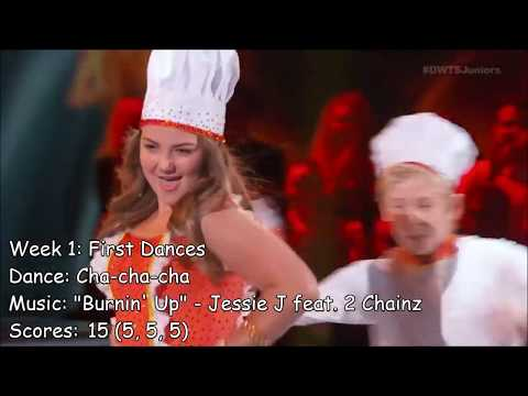 Addison Osta Smith&39;s Performance On Dancing With The Stars: Juniors