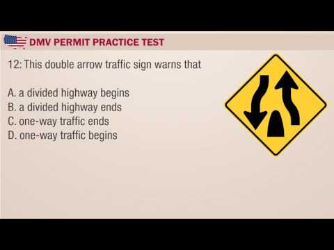 Driving license test: Mississippi DMV Permit Practice Exam 1