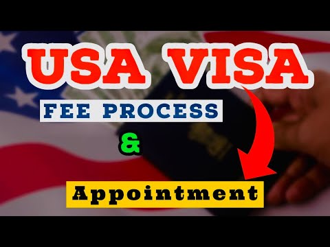US VISA APPOINTMENT VISA DATE BOOKING VISA FEE PAYMENT | ENGLISH | US CONSULAR | 2020 RULES