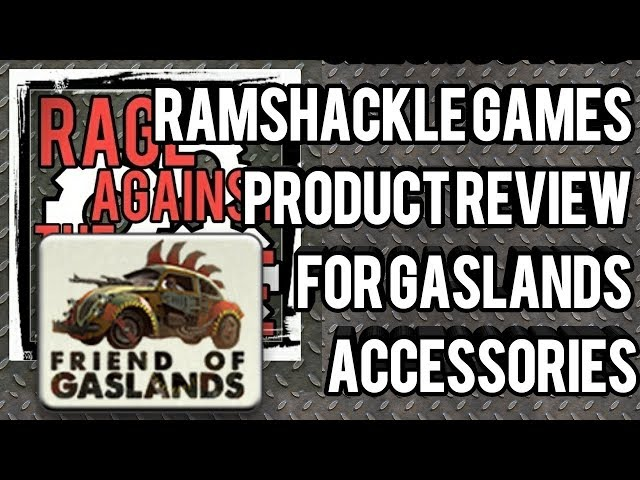 Check out my Ramshackle Games Gaslands product review