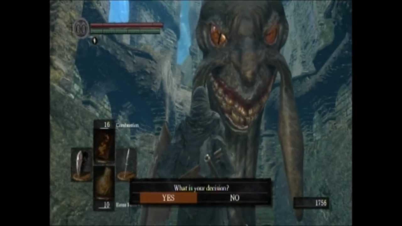 Dark Souls Beginners Guide part:12 Kingseeker Frampt - YouTube