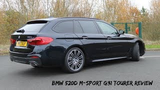 BMW 520d M Sport G31 2017 Touring Review