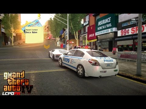 GRAND THEFT AUTO IV - LCPDFR 1.1 - EPiSODE 6 - NYPD NISSAN ALTIMA - WASTELAND