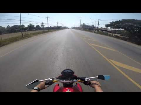 ลองขับ ER6N 2011 GEAR 1 2 3 No top speed