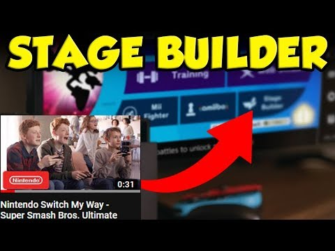 Nintendo Accidentally Leaks Smash Ultimate Stage Builder! thumbnail
