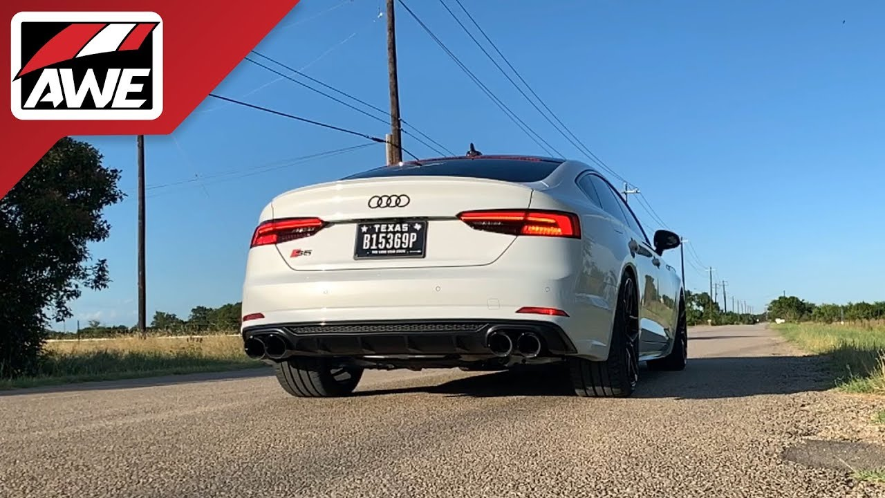 #AWEintheWild: Audi B9 S5 Sportback | Track Edition Exhaust