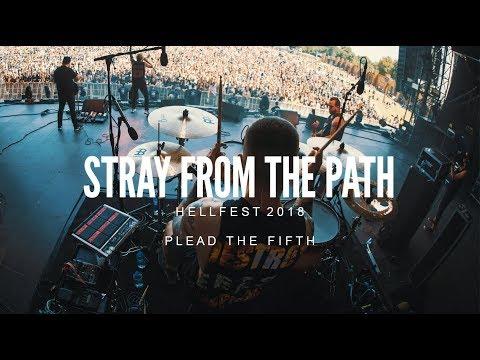 Stray From The Path - Plead The Fifth - LIVE Hellfest 2018 Mp3