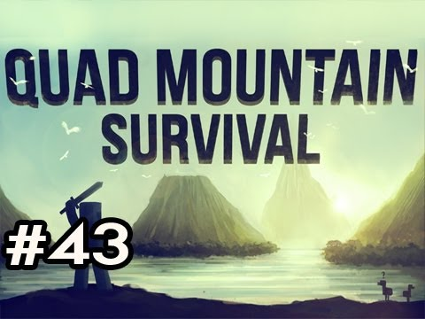 Minecraft: Quad Mountain Survival w/Nova Ep.43 - CROUCHING TIGER, HIDDEN CREEPERS