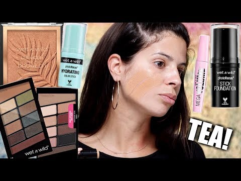 Truly shocked ... A FULL FACE OF WET N' WILD MAKEUP