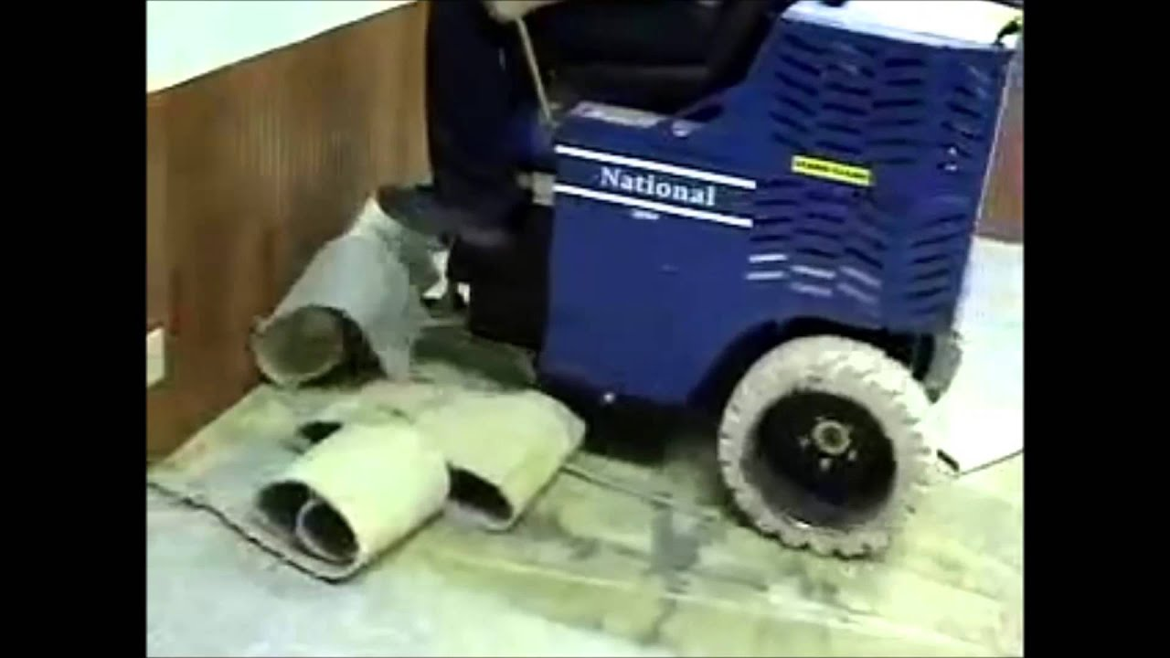 bartlett stripping rental machine floor watch il buffing waxing youtube cleaning and