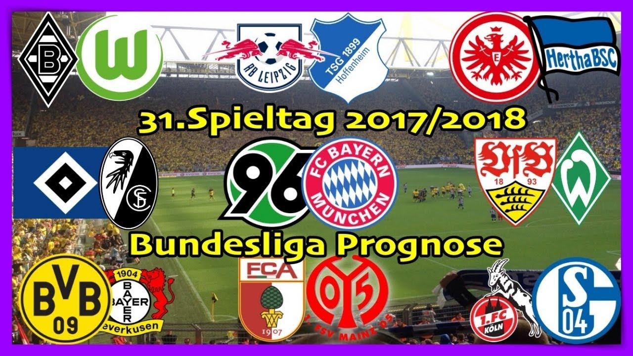 Fifa 18 Bundesliga Prognose 31spieltag 20172018 Alle Spiele Alle