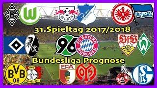 Fifa 18 bundesliga prognose 31.spieltag 2017/2018 alle spiele, alle tore deutsch (hd)