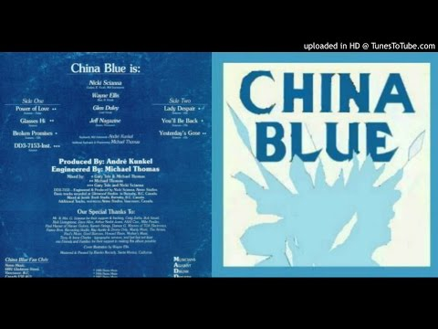 CHINA BLUE ~ Lady Despair  [AOR]