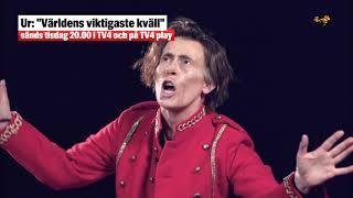Petter Stordalen blir imiterad av Rakel Molin