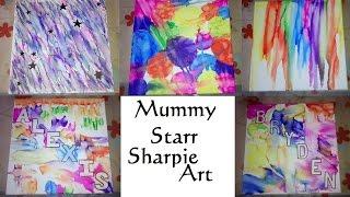 MummyStarr Sharpie Art