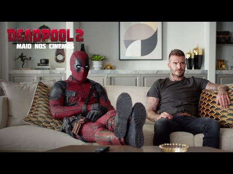 DEADPOOL 2 | Perdoa-me David Beckham | 20th Century FOX Portugal