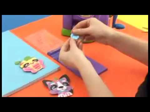 Making Magic Fabric Danglers and Stickers demo video - YouTube