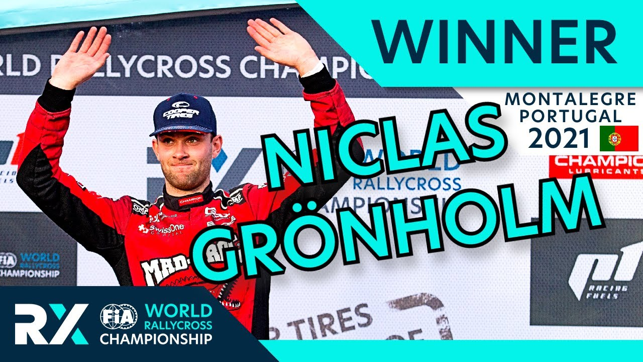 Niclas Grönholm wins Cooper Tires World RX of Montalegre 2021 : Portugal Rallycross